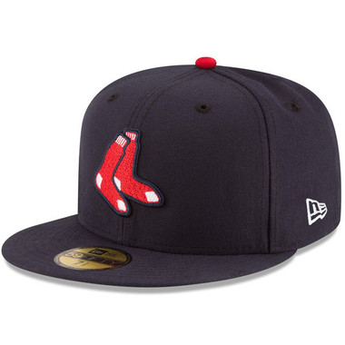 Youth New Era Boston Red Sox Alternate 59FIFTY AC Fitted Cap