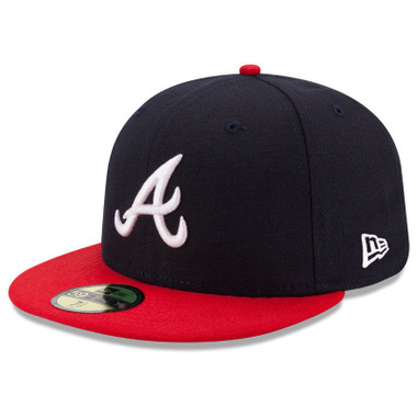 Youth New Era Atlanta Braves 59FIFTY AC Fitted Cap