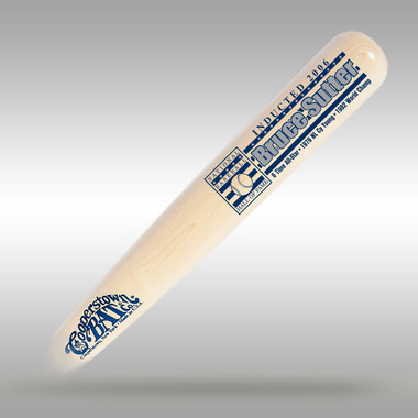 Bruce Sutter Baseball Hall of Fame Silver Player Series Full Size Bat