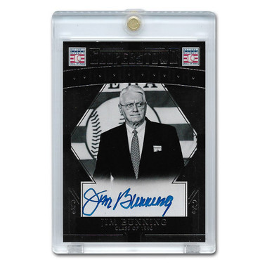Jim Bunning Autographed Card 2015 Panini Cooperstown # 22