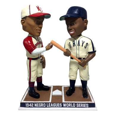 Satchel Paige & Josh Gibson 1942 Negro League World Series Bobblehead Ltd Ed of 1,942