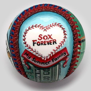 Fever Pitch Unforgettaballs Limited Commemorative Baseball with Lucite Gift Box