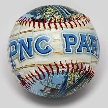 PNC Park Unforgettaballs Limited Commemorative Baseball with Lucite Gift Box