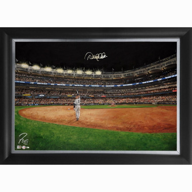 Derek Jeter 'Curtain Call' Autographed Limited Edition of 30 Framed 24 x 36 Canvas Giclee (Justyn Farano)