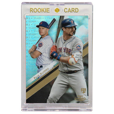 Pete Alonso New York Mets 2019 Topps Gold Label # 31 Rookie Card