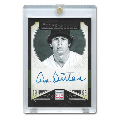 Don Sutton Autographed Card 2015 Panini Cooperstown # 14