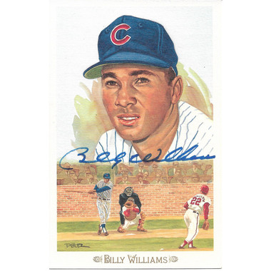 Billy Williams Autographed Perez-Steele Celebration Series Postcard # 42 (JSA)