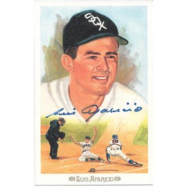 Luis Aparicio Autographed Perez-Steele Celebration Series Postcard # 2 (JSA)