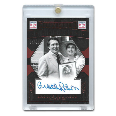 Brooks Robinson Autographed Card 2015 Panini Cooperstown Red # 7 Ltd Ed of 49
