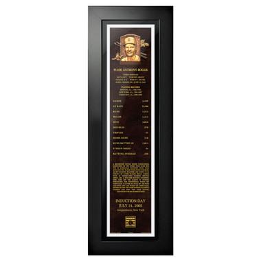 Wade Boggs Baseball Hall of Fame 24 x 8 Framed Plaque Art