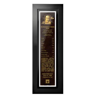 Willie Stargell Baseball Hall of Fame 24 x 8 Framed Plaque Art
