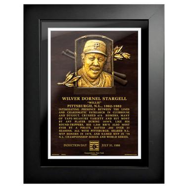 Willie Stargell Baseball Hall of Fame 18 x 14 Framed Plaque Art