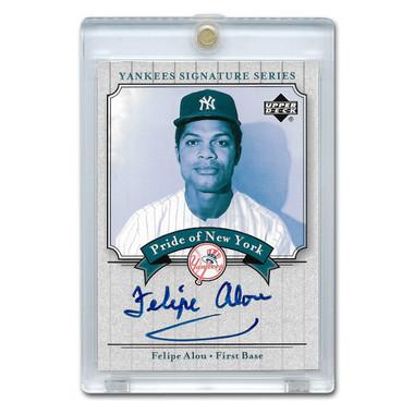 Felipe Alou Autographed Card 2003 Upper Deck Yankees Signature Series #PN-FA