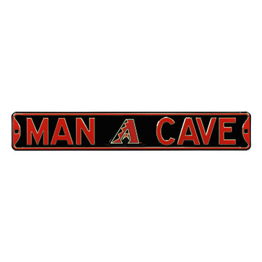 Arizona Diamondbacks Authentic Street Signs 6 x 36 Steel Man Cave Street Sign