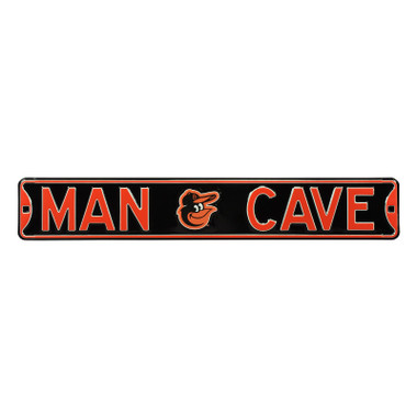 Baltimore Orioles Authentic Street Signs 6 x 36 Steel Man Cave Street Sign