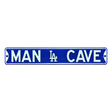 Los Angeles Dodgers Authentic Street Signs 6 x 36 Steel Man Cave Street Sign