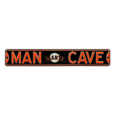 San Francisco Giants Authentic Street Signs 6 x 36 Steel Man Cave Street Sign