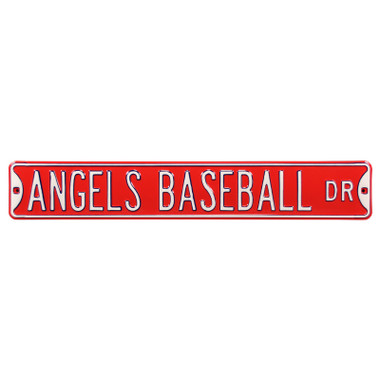 Los Angeles Angels Baseball Authentic Street Signs 6 x 36 Steel Team Street Sign