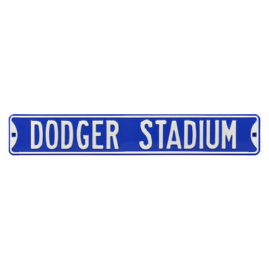 Dodger Stadium Authentic Street Signs 6 x 36 Steel Street Sign