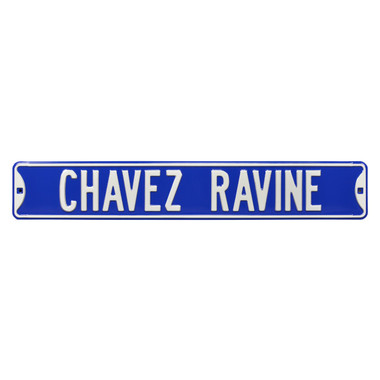 Chavez Ravine Authentic Street Signs 6 x 36 Steel Street Sign