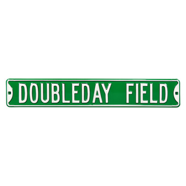Doubleday Field Authentic Street Signs 6 x 36 Steel Street Sign