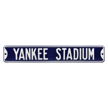 Yankee Stadium Authentic Street Signs 6 x 36 Steel Street Sign