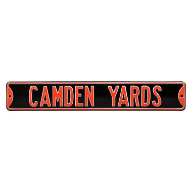 Camden Yards Authentic Street Signs 6 x 36 Steel Street Sign