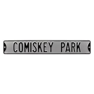 Comiskey Park Authentic Street Signs 6 x 36 Steel Street Sign