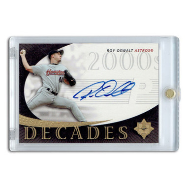Roy Oswalt Autographed Card 2005 Signature Edition Decades #SD-RO