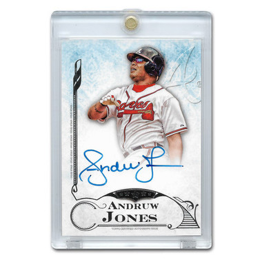 Andruw Jones Autographed Card 2015 Topps Five Star # FSA-AJ