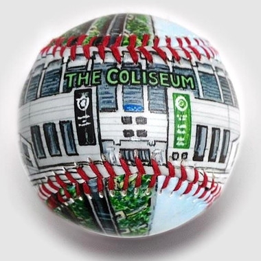 The Coliseum Unforgettaballs Limited Commemorative Baseball with Lucite Gift Box