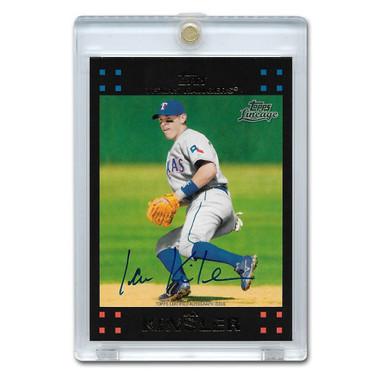 Ian Kinsler Autographed Card 2011 Topps Lineage # RA-IK