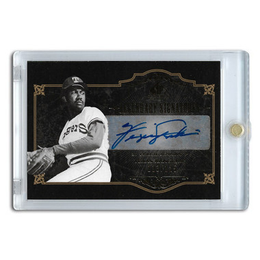 Fergie Jenkins Autographed Card 2007 SP Legends Legendary Signature Ltd Ed of 125