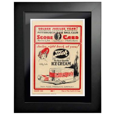 1925 World Series Program Cover 18 x 14 Framed Print