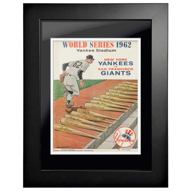 1962 World Series Program Cover 18 x 14 Framed Print #1