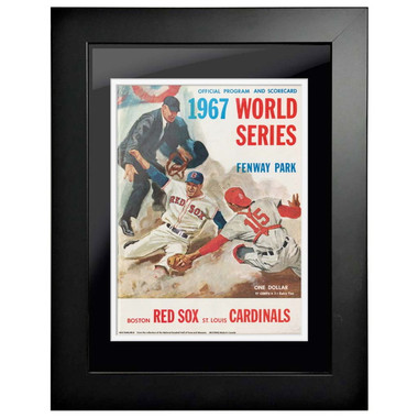 1967 World Series Program Cover 18 x 14 Framed Print #1
