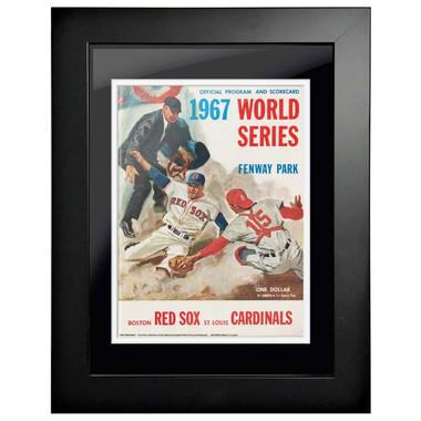 1967 World Series Program Cover 18 x 14 Framed Print #1
