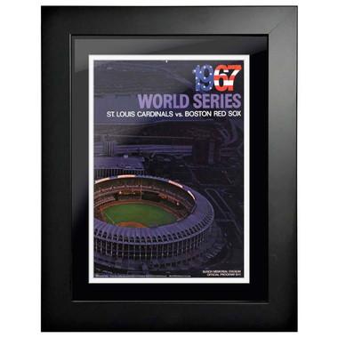 1967 World Series Program Cover 18 x 14 Framed Print #2