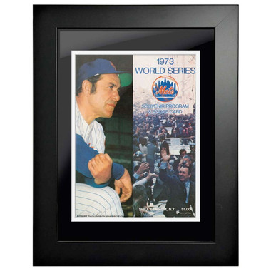 1973 World Series Program Cover 18 x 14 Framed Print #1