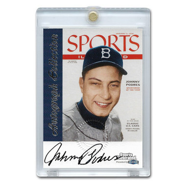 Johnny Podres Autographed Card 1999 Fleer Sports Illustrated Greats