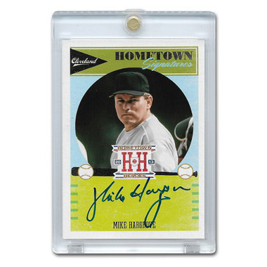Mike Hargrove Autographed Card 2013 Panini Hometown Signatures