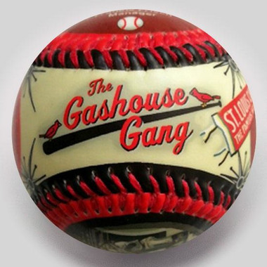 Gashouse Gang Unforgettaballs Limited Commemorative Baseball with Lucite Gift Box