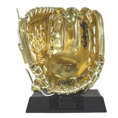 Dale Murphy Autographed Rawlings Mini Gold Glove Award (PSA)