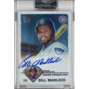 Bill Madlock Autographed Card 2003 Topps Chrome Retired Players