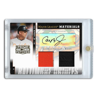 Cal Ripken Jr. Autographed Card 2005 Playoff Prime # MLM 36 Ltd Ed of 50