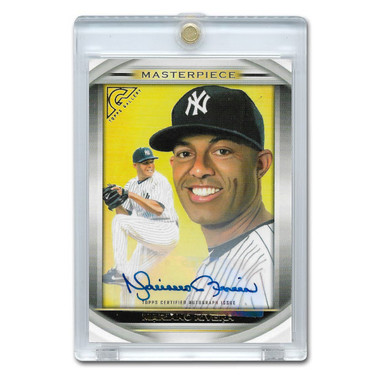 Mariano Rivera Autographed Card 2019 Topps Masterpieces Ltd Ed of 10