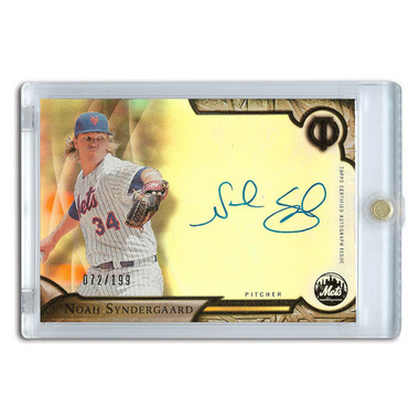 Noah Syndergaard Autographed Card 2016 Topps Tribute Lt Ed of 199
