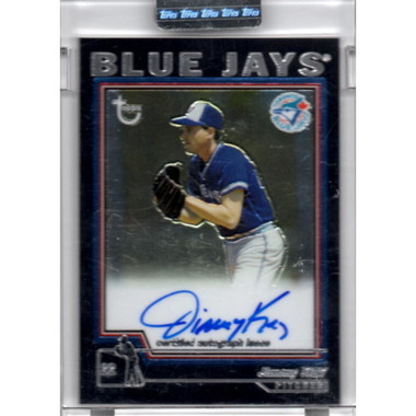 Jimmy Key Autographed Card 2004 Topps Chrome Retired Players