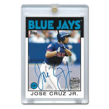 Jose Cruz Jr. Autographed Card 2015 Topps Archives Franchise Favorites