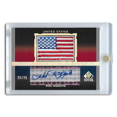 Phil Rizzuto Autographed Card 2012 SP Pride of a Nation Ltd Ed of 25